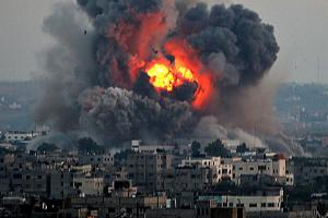 Gaza under attack, July 2104